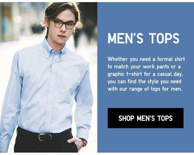 Shop all Men's Tops