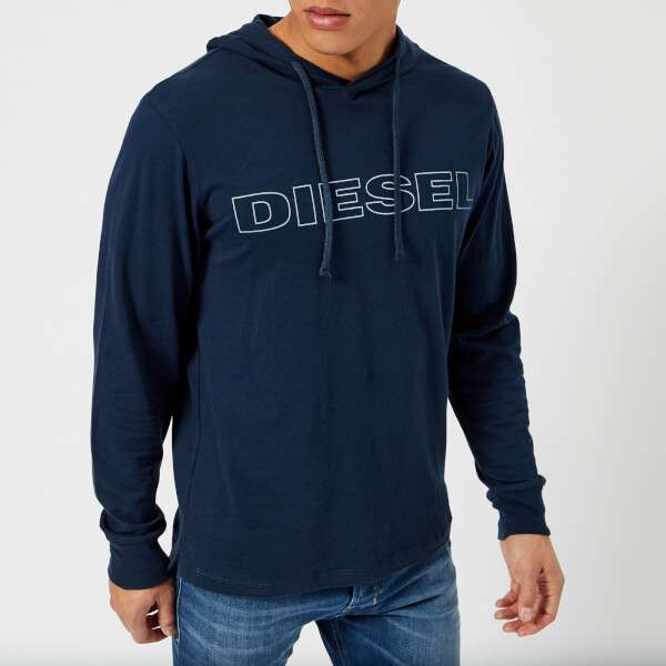 Diesel Men's Jimmy Overhead Hoody - Navy