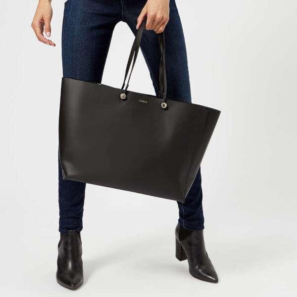 Furla Women's Eden Large Tote Bag - Black: Image 21