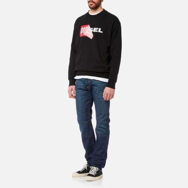 Diesel Men's Samy Crew Sweatshirt - Black: Image 21