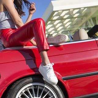Pit stop pose #cherrybomb #ASHgirls #ASHadventures #ASHshoes