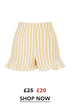PETITE Yellow Striped Co-Ord