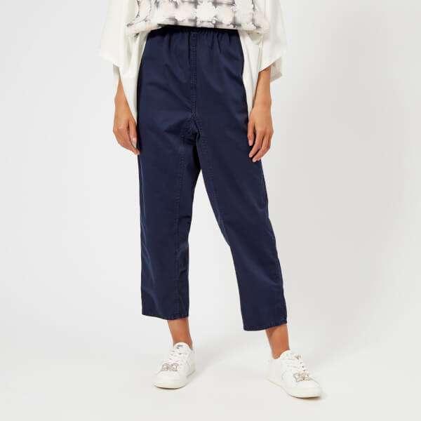 MM6 Maison Margiela Women's Cotton Garment Dyed Trousers - Indigo