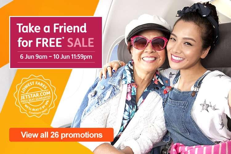 Take a Friend for FREE Sale