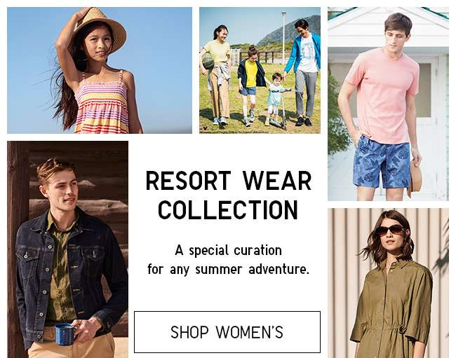 Shop Women's Resort Wear Collection. A Special curation for any summer adventure.