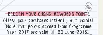 Redeem Your Changi Rewards Points