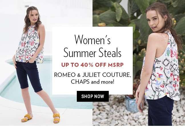 Women's Summer Styles