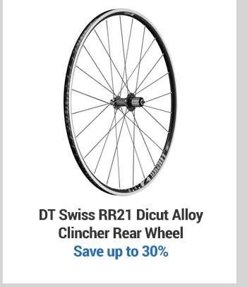 DT SwissRR21 Dicut Alloy Clincher Rear Wheel