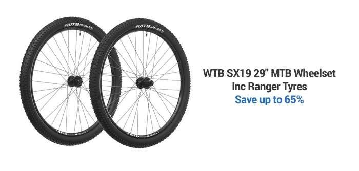 WTBSX19 29in MTB Wheelset Inc Ranger Tyres
