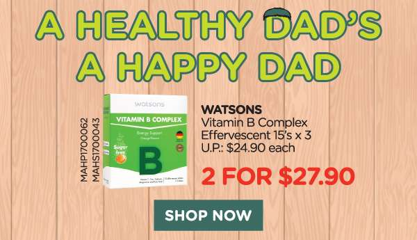 Watsons Vitamin B Complex