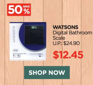 Watsons Digital Bathroom Scale