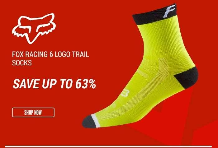 Fox Racing6 Logo Trail Socks