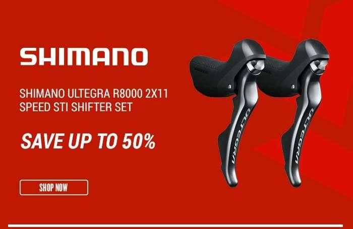 ShimanoUltegra R8000 2x11 Speed STI Shifter Set