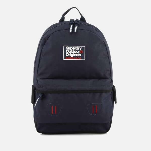 Superdry Men's Binder Montana Backpack - Dark Navy