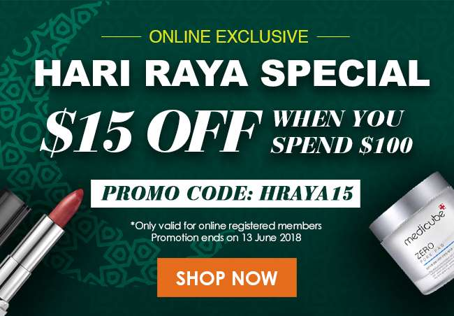 $15 Off When You Spend $100 Promo Code: HRAYA15