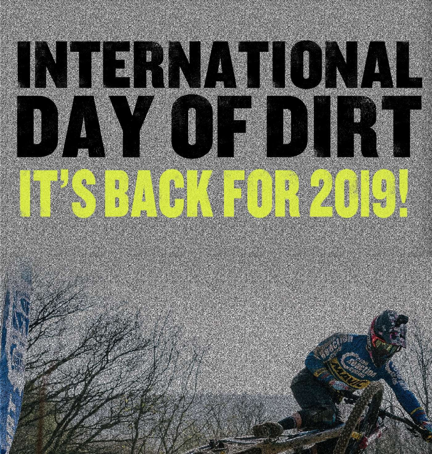 International Day of Dirt is back for 2019!