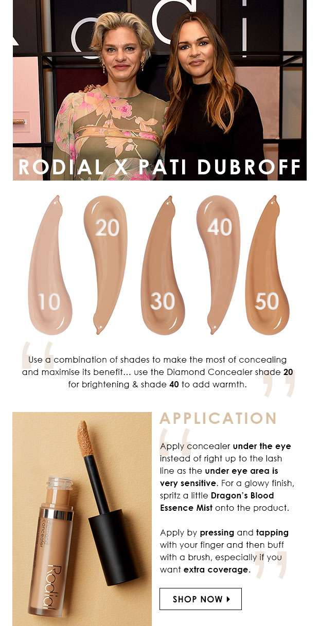 Rodial x Pati Dubroff - the lowdown
