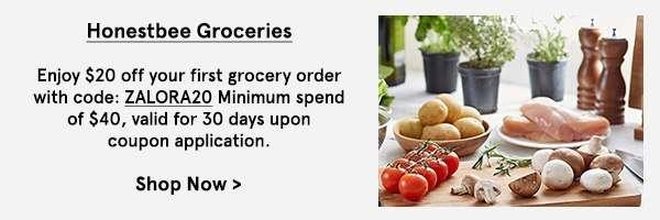 Honestbee Groceries.