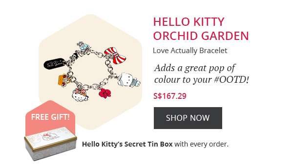HELLO KITTY ORCHID GARDEN SHOP NOW