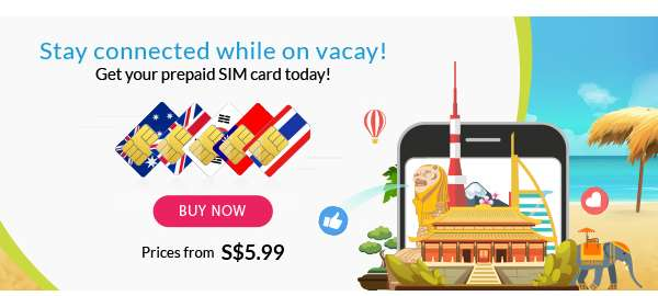 Stay connected while on vacay! BUY NOW