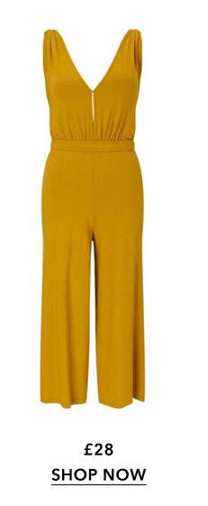 Ochre Airport Jumpsuit