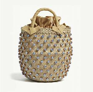 LE NINE                              Nina straw bucket bag