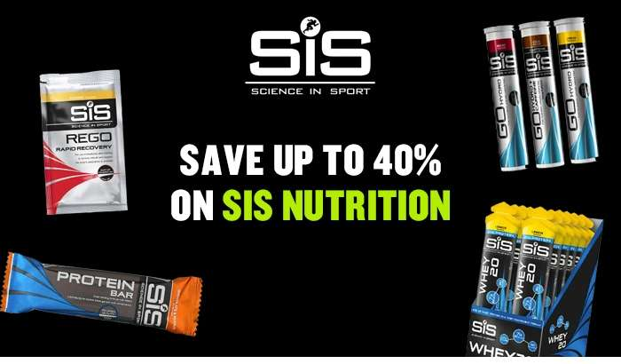 Save up to 40% on SiS Nutrition