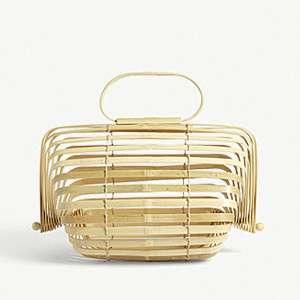 CULT GAIA                              Bamboo handbag