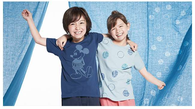Kids' Mickey Blue UT Collection
