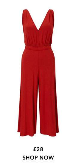 Rust Airport Jumpsuit