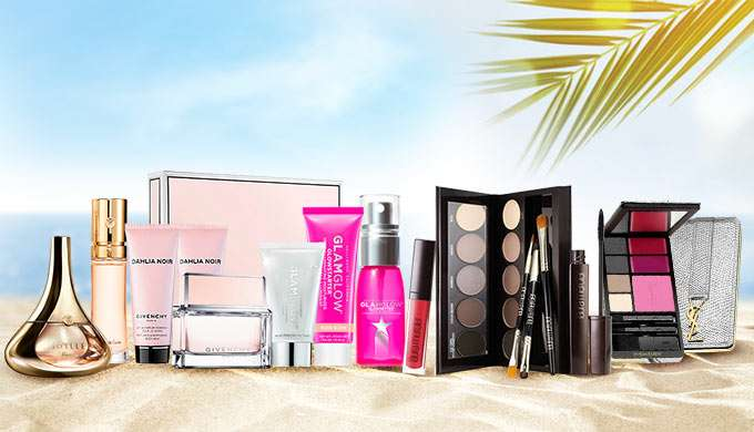 Ready, Get Set, Go! Travel Sets up to 70% Off! BareMinerals, Bvlgari, Clarins, DKNY & more! Ends 18 Jun 2018