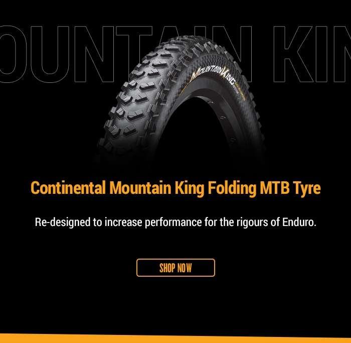 ContinentalMountain King Folding MTB Tyre
