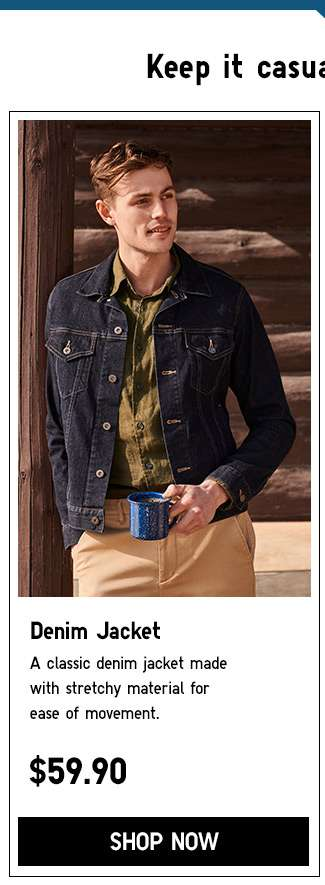 Shop Men's Denim Jacket