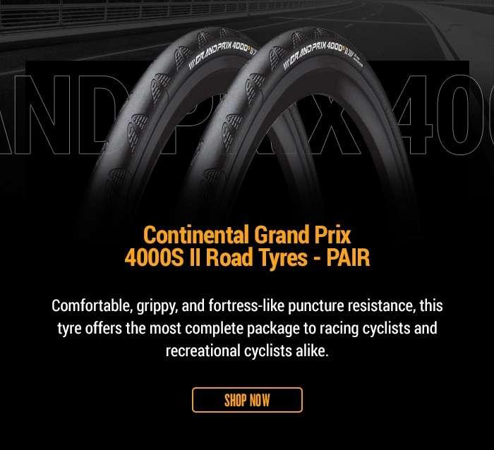 ContinentalGrand Prix 4000S II Road Tyres - PAIR