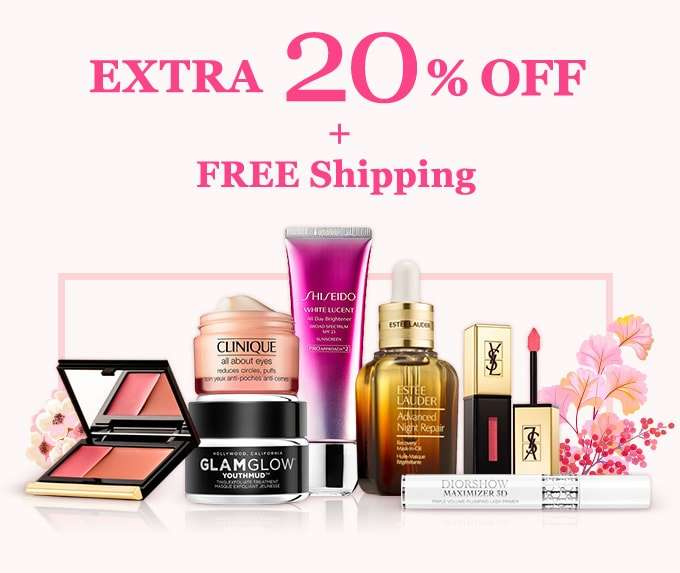 Get Extra 20% Off + Free Int'l Shipping! Offer Ends 17 Jun 2018