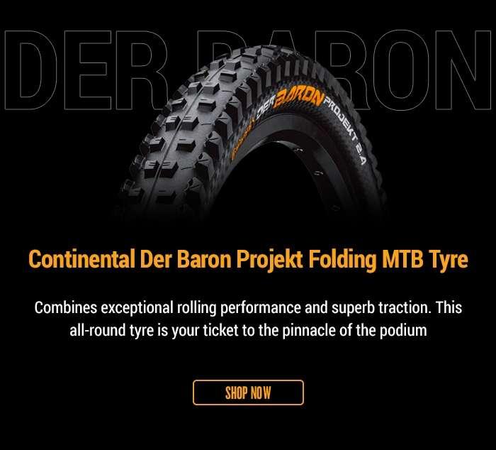 ContinentalDer Baron Projekt Folding MTB Tyre