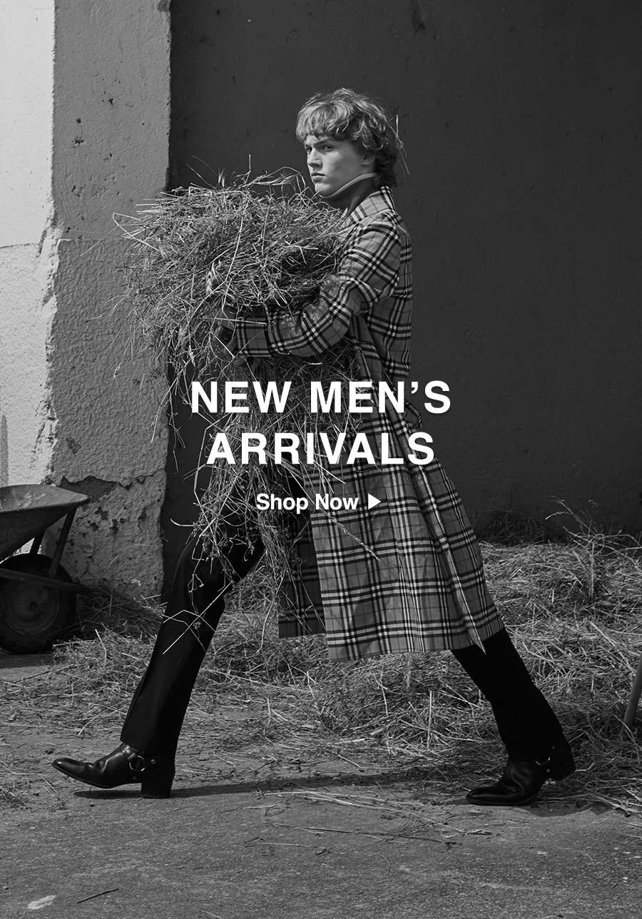 New Men's Arrivals