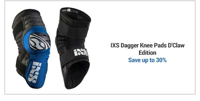 IXS Dagger Knee Pads D'Claw Edition 2018