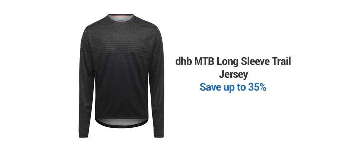 dhbMTB Long Sleeve Trail Jersey