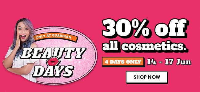 Beauty Days | 30% off all cosmetics!