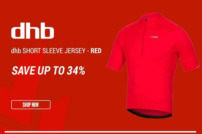 dhb Short Sleeve Jersey - Red
