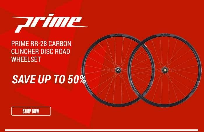 PrimeRR-28 Carbon Clincher Disc Road Wheelset
