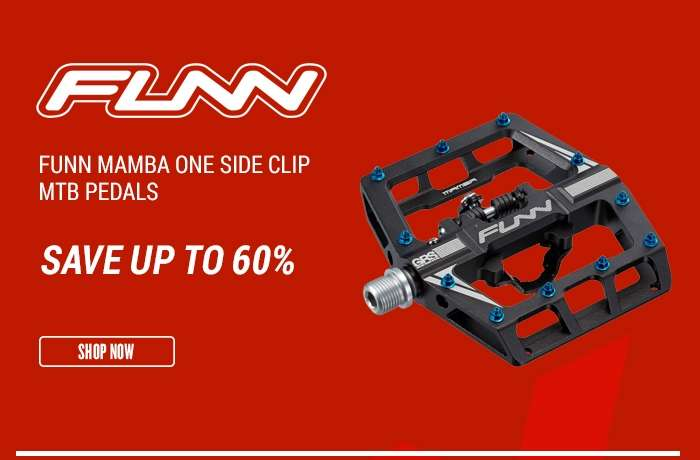 FunnMamba One Side Clip MTB Pedals