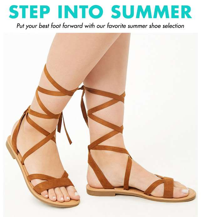 Step into Summer - Put your best foot forward with our favorite summer shoe selection