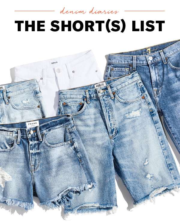 Meet the cutoffs you'll be living in all. summer. long.