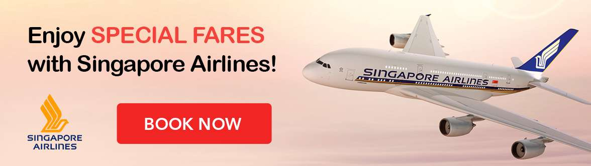 Grab the Singapore Airlines special fares now