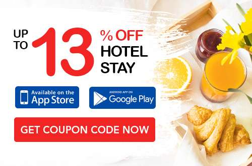 Up to 13% OFF Hotel coupon code