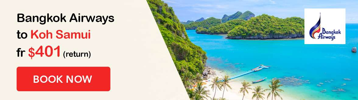 Special Bangkok Airways offer to Koh Samui