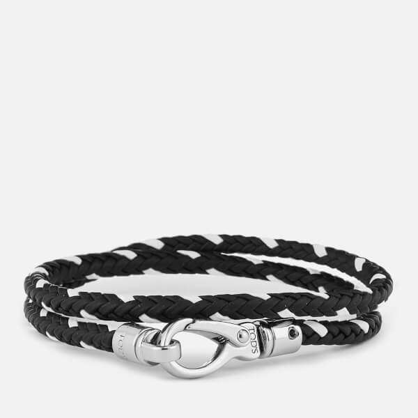 Tod's Men's Scooby Trek Bracelet - Black/White