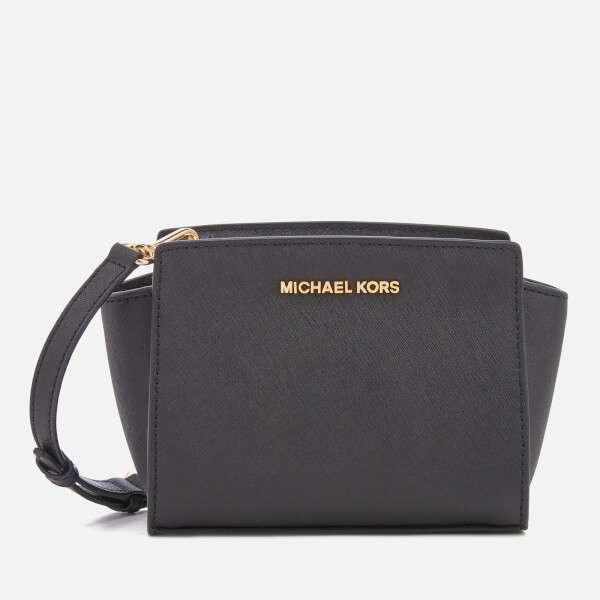 MICHAEL MICHAEL KORS Women's Selma Mini Messenger Bag - Black
